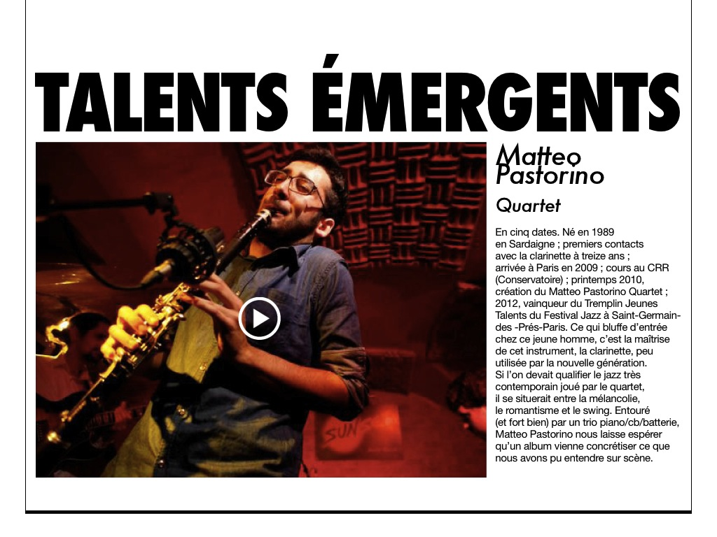 talent emergents press