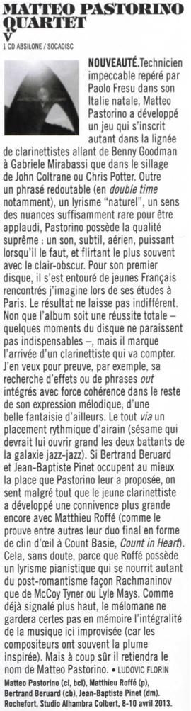 chronique V Jazzmag